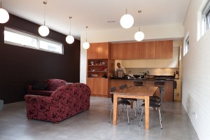 Concord House – Kitchen & Living Area