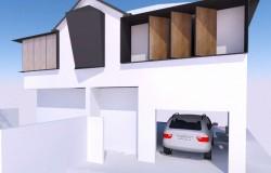 Merewether House – Option 1 Elevation