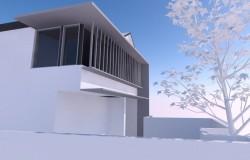 Merewether House – Option 3 Cornner Elevation