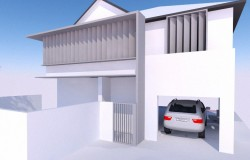 Merewether House – Option 3 Elevation